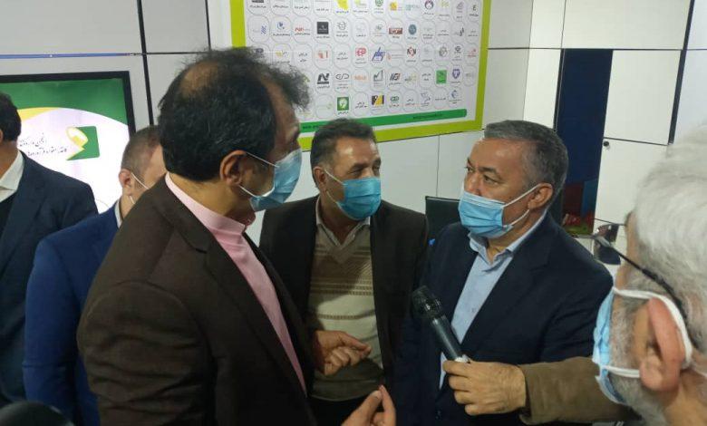 تصویر از بازدید ویژه جناب اقای قبادی معاونت محترم بازرگانی وزارت صمت از غرفه انجمن